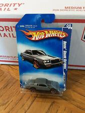 Hot Wheels 1987 Buick Grand National Grey Lot# Gn007
