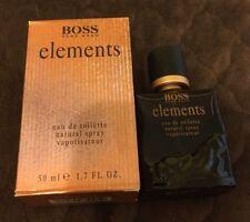 Boss Elements by Hugo Boss Men EDT Spray 1.7 oz 50ml NIB Rare