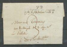 1811 Lettre Marque Linéaire 79 St Fulgent VENDEE(79) Indice 11 X2300