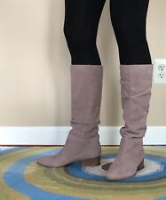 Steve Madden Pondrosa Women's Taupe Suede Boots Sz 8B
