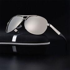 New POLARIZED Pilot Sunglasses Mens Women's UV400 Driving Glasses Mirror Eyewear
