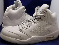 check out b10c1 18e90 Nike Air Jordan 5 V Rétro Premium Platine Pur Sz 12 (881432-003)