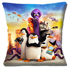 "'Penguins of Madagascar' Skipper Kowolski Rico Private 16"" Pillow Cushion Cover"