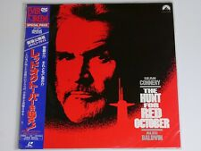 LD Laserdisc :The Hunt for Red October 1990 : Sean Connery