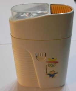 1992 OLYMPIC GAMES BARCELONA Pocket Torch with Official Logo & Mascot Cobi NICE!