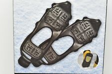 Anti Slip Ice Snow Cleats Grippers Crampons Slip-on Ice Grips  GEAR