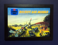 Corgi Toys GS 6 Rocket Age Gift Set Vintage 1959 A4 Size Framed Poster Shop Sign