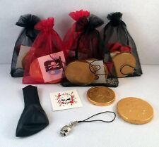 PIRATE THEME ORGANZA PARTY/GIFT/LOOT/STOCKING FILLER **SUPER VALUE FOR MONEY**