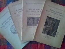 MEMORIE STORICHE DELLA DIOCESI DI BRESCIA - annata completa 1947  sotto i titoli