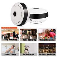 360º Smart WIFI Panoramic IP Camera Wireless Home Security 1080P HD Night Vision