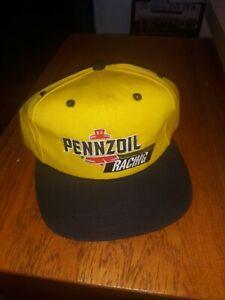 KIDS Pennzoil Racing Hat, cap Adjustable Yellow NEW