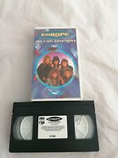 Europe - the final countdown - VHS Video Tape