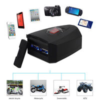 Daul USB Motorcycle Charger Switch Cell Phone GPS Power Supply Socket Waterproof