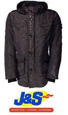 Blousons noirs textiles iXS pour motocyclette