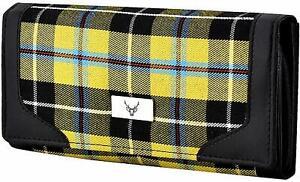 Ladies Long Wallet Purse In Cornish National Tartan Boxed