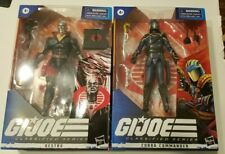 Gi Joe Classified Destro and Cobra Commander set Sealed, in hand