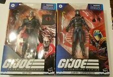 Gi Joe Classified Destro and Cobra Commander set Sealed, in hand
