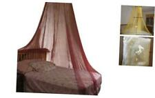 OctoRose Round Hoop Bed Canopy Netting Mosquito Net Fit Crib, Twin, Full, Queen,