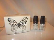 New Luminess Air/Stream Airbrush Makeup M1 Moisturizer Primer TWO .25oz Bottles