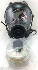 40mm NATO SGE 400/3 Gas Mask w/Military-Grade NBC Filter -Brand New, Exp 2022