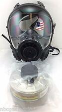 40mm NATO SGE 400/3 Gas Mask w/Military-Grade NBC Filter -Brand New, Exp 2022