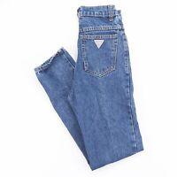 GUESS  Blue Denim Slim Straight Jeans Womens W26 L28