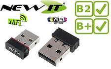 Wireless Nano - USB WiFi b/g/n 150Mbps for the Raspberry Pi model B+ (B Plus)
