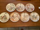 Antique+French++Partial+Plate+Set++Joan+of+Arc+Life