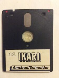 IKARI  WARRIORS. - Amstrad / Schneider CPC Disk