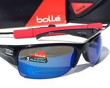 NEW* Bolle ZANDER in BLACK w Polarized Blue ANGLER Sunglass 11375 $189.98 Marine