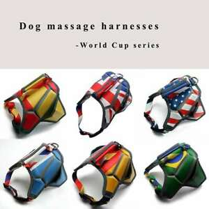 No-pull Dog Harness Reflective Massage Breathable Outdoor Vest Padded Handle
