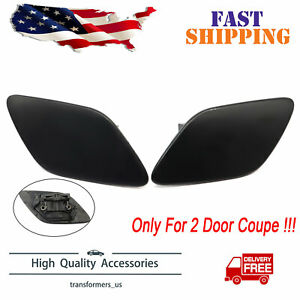 Headlight Washer Cover Left &Right for BMW 328i 335i Coupe Convertible 2007-2010