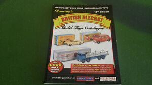 Ramsay's British Diecast Model Toys Catalogue (13th Edition) in good condition