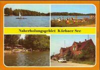 Ansichtskarte Körba-Lebusa Körbaer See 1987