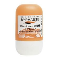 BYPHASSE Roll on Deodorant 24 hour protection Sweet almond oil 50 ml