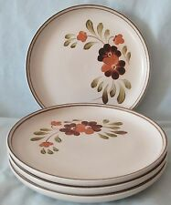 Denby Langley Brown Serenade Salad Plate set of 4
