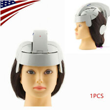 Portable Electric Brain Head Massager Helmet Scalp Relax Acupuncture Vibration