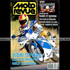 MOTO REVUE N°2963 SUZUKI GSXR 750 HONDA NSR 250 YAMAHA YZR HARLEY 1340 STURGIS