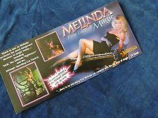 Melinda, first lady of Magic, promo card