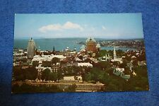 Vintage Postcard View Of Upper Town Overlooking The St. Lawrence, Quebec