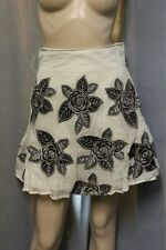 Alice + Olivia Floral Applique Roses Skirt size 2