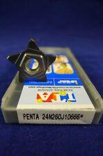 PENTA 24N260J10665*IC908 ISCAR CARBIDE INSERTs (Pack of 5)