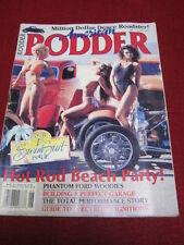 AMERICAN RODDER #11 - HOD ROD BEACH PARTY - June 1989