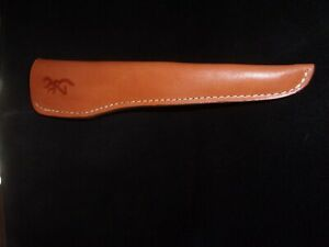 Browning, NOS,leather knife sheath, #7018