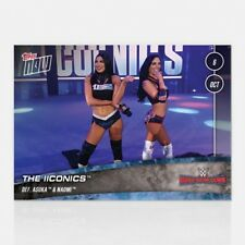 2018 TOPPS NOW WWE #56 THE ICONICS DEFEAT ASUKA AND NAOMI AT SUPER-SHOW-DOWN