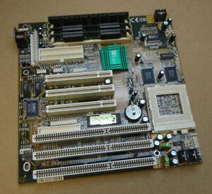ECS P5SV-B REV 2.0 Socket 7 Motherboard with 3 x ISA and 3 x PCI Slots