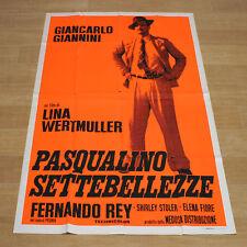 PASQUALINO SETTEBELLEZZE poster manifesto Giancarlo Giannini Wertmüller G32
