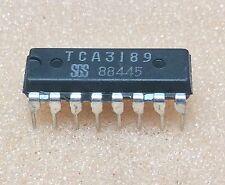 1 pc. TCA3189  SGS  IF-Tuning-Signal Processing Circuit  DIP16  NOS