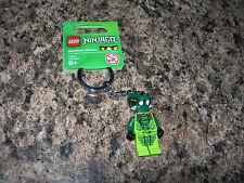 LEGO Ninjago Minifigure Keychain VENOMARI WARRIOR minifig key chain spitta NEW