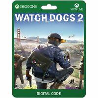 Watch Dogs 2 Xbox One Codice Download per Gioco Digitale CD Key